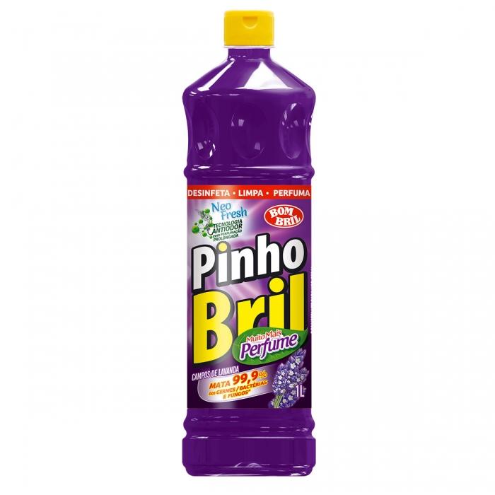 Desinf pinho brill 1L lavanda