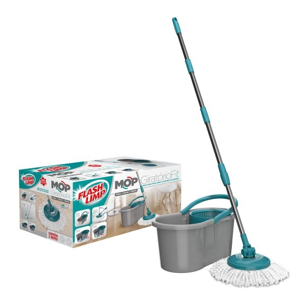 Mini mop giratorio fit Flash limp