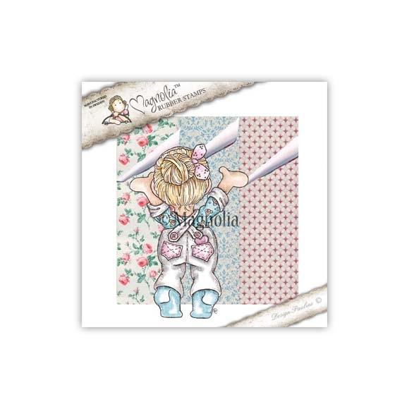 Carimbo Magnolia FU - Wallpaper Tilda & Wallpaper *Entrega Prevista Início Junho