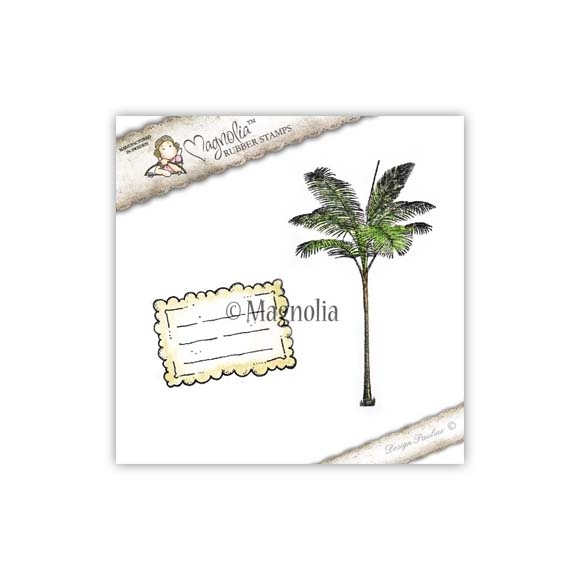 Carimbo Magnolia FS - Palm Tree & Tiles