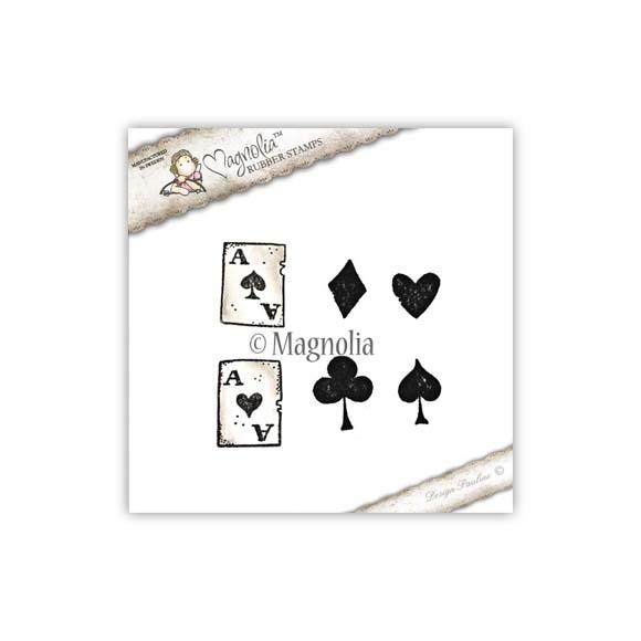 Carimbo Magnolia TW - Playing Card