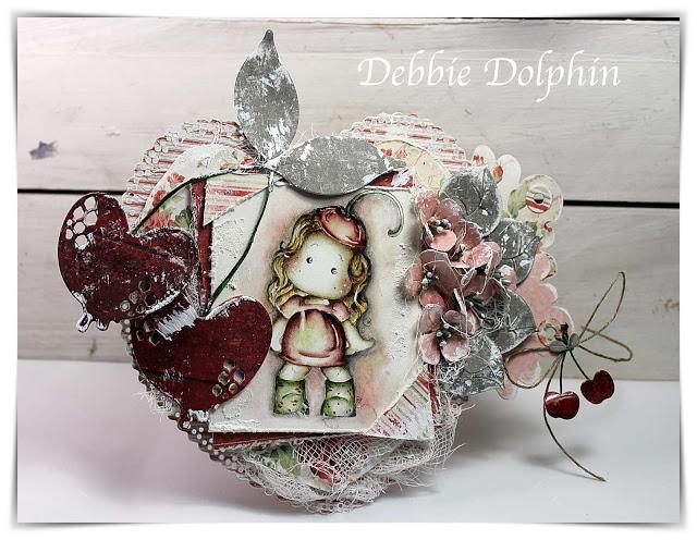Carimbo Magnolia FS - Cherry Tilda