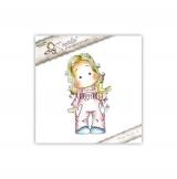 Carimbo Magnolia UF - Tilda with Ea...