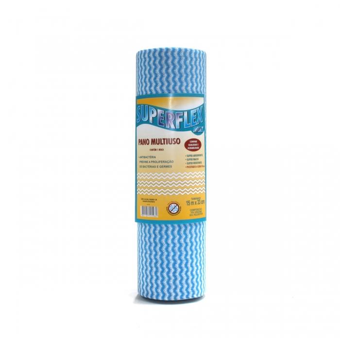 Pano multiuso 0,30x0,25cm Nobre azul