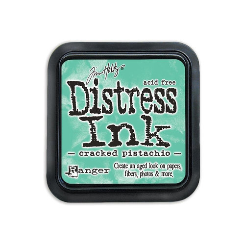 Mini Carimbeira Distress Ink Tim Holtz - Cracked Pistachio
