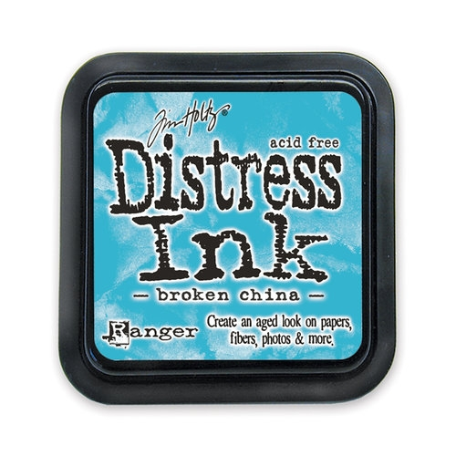 Carimbeira Distress Ink Tim Holtz - Broken China