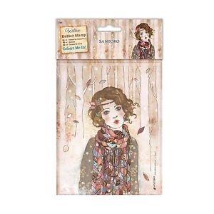 Carimbo de Borracha Willow - Souvenir D´Hiver