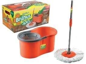 Brilhus mop balde spin plastico 9L