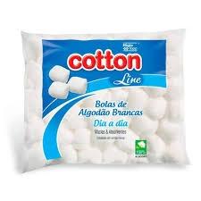 Algodao cotton line 50g bola branco