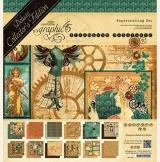 Graphic 45 Bloco de Papel - Steampu...