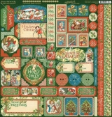 Graphic 45 Bloco de Papel - Christm...