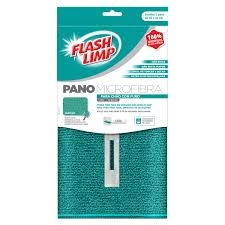 Pano microfibra para chao com furo Flashlimp