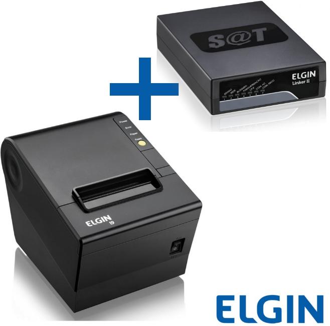 Kit SAT Fiscal e Impressora não fiscal I9 Elgin