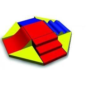 KM - Conjunto centro de Atividades c/ 9 peças