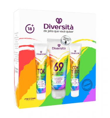 Diversità - Kit com 3 produtos