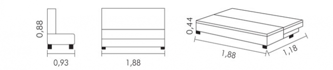 SOFA CAMA MISSOURI - TC719