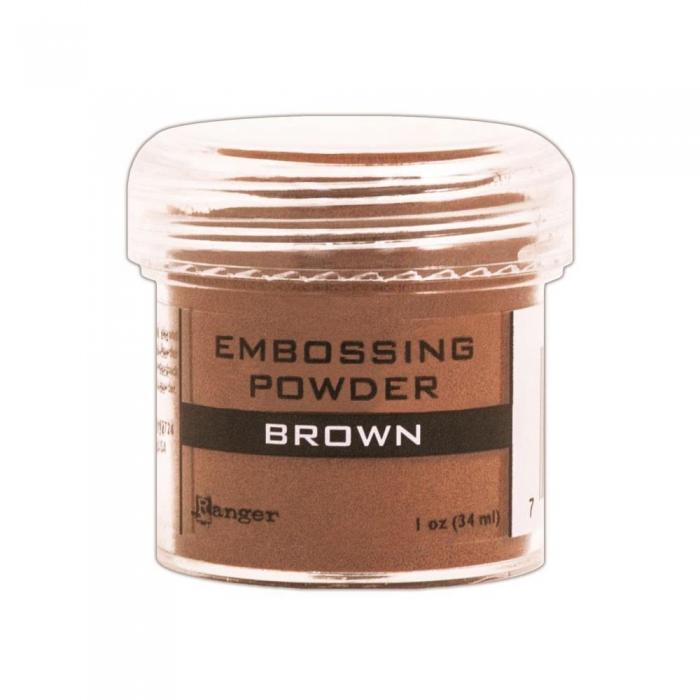 Pó de Emboss Brown / Marrom