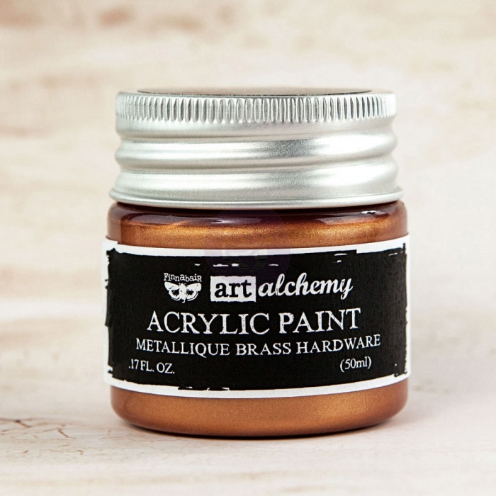 Tinta Acrílica Metálica Bronze - Art Alchemy - Prima Marketing