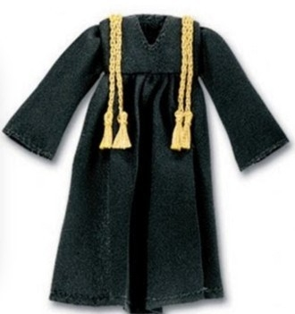 Adesivo Graduation Gown