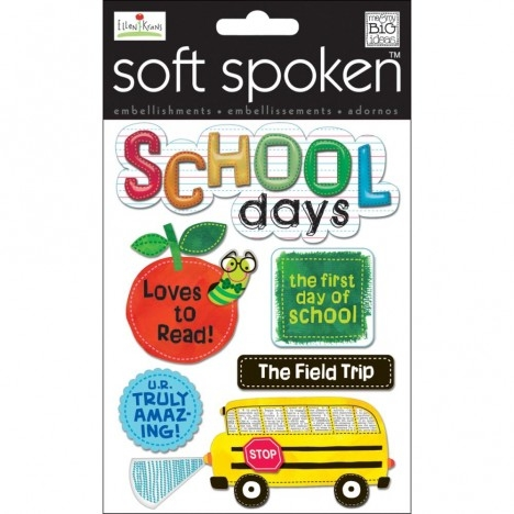 Adesivo School Days / Dias de Escola