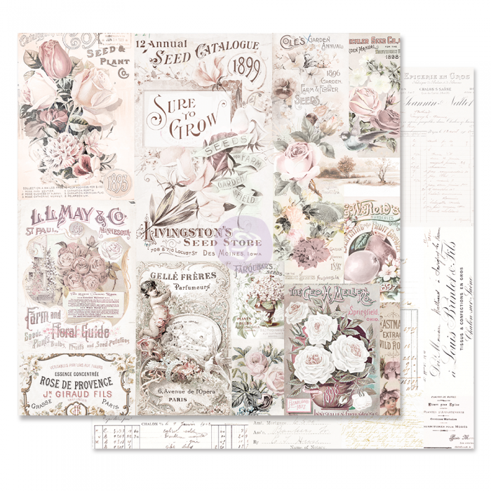 Lavender Frost Collection - Papel My Lovely Garden - Prima Marketing