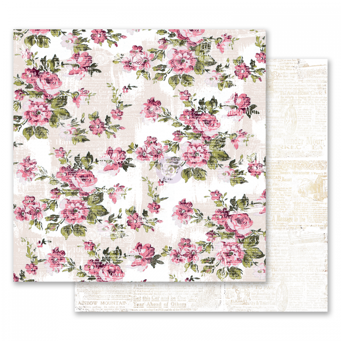 Misty Rose Collection - Papel The Memorable Floral Wall - Prima Marketing