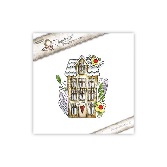 Carimbo Magnolia YI - My Home Tilda