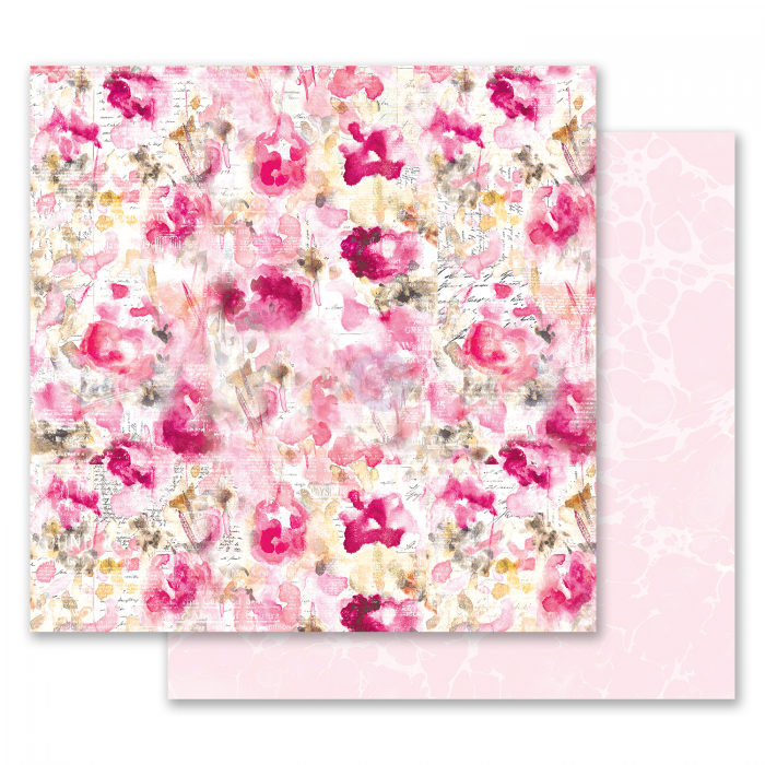 Misty Rose Collection - Papel Scattered Dreams - Prima Marketing