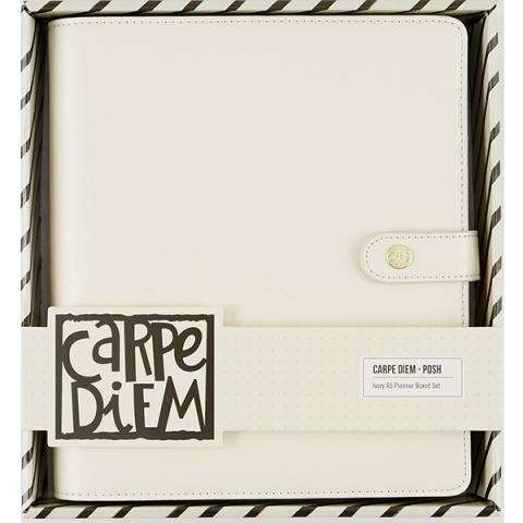 Planner Marfim Carpe Diem A5 C/Inserts