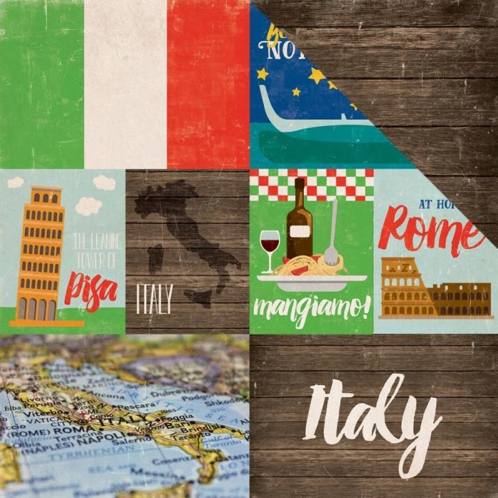 Papel Italia Around The World