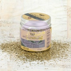 Art Ingredients Glass Glitter - Gold Rush 56g - Prima Marketing