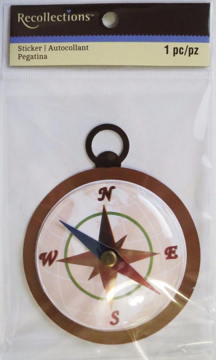 Adesivo Compass / Bussula
