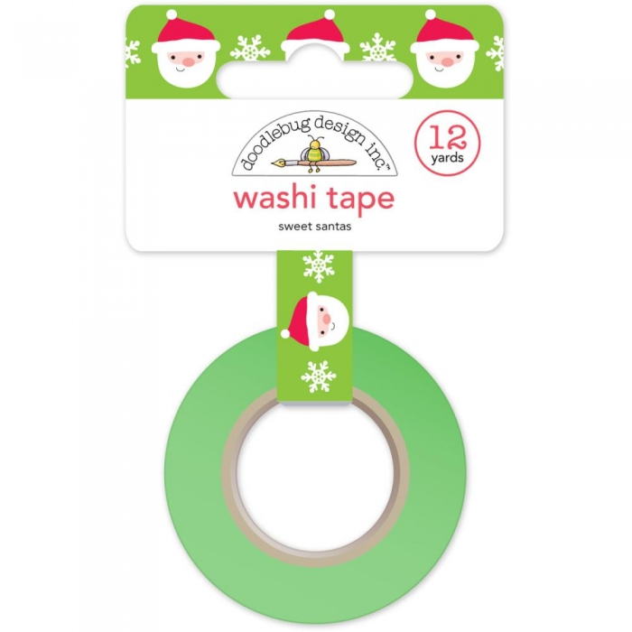 Washi Tape - Fita Adesiva Sweet Santas