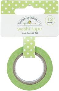 Washi Tape / Fita Adesiva Verde Poá