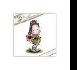 Carimbo Magnolia YB - Tilda with Bi...