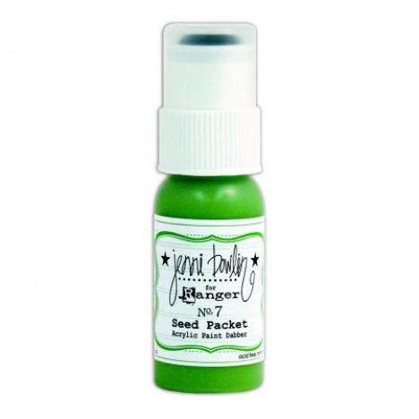 Tinta Acrílica Dabber Seed Packet / Verde Folha