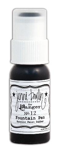 Tinta Acrílica Dabber Fountain Pen / Cinza Escuro