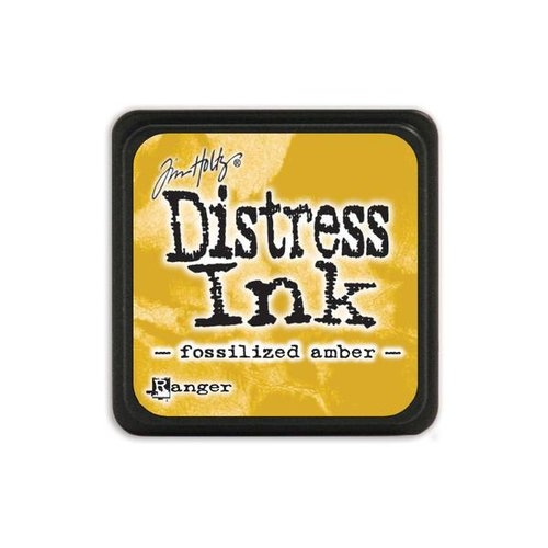 Mini Carimbeira Distress Ink Tim Holtz - Fossilized Amber