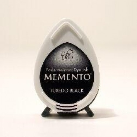 Carimbeira Memento Mini Tuxedo Black / Preto