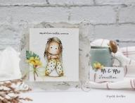 Carimbo Magnolia YI - Wonderful Til...