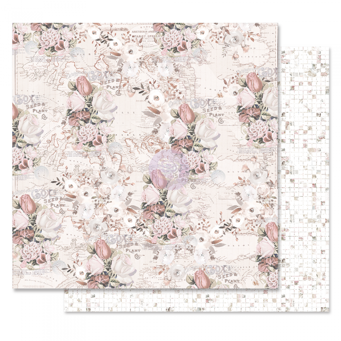 Lavender Frost Collection - Papel The Road To You - Prima Marketing