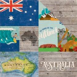 Papel Austrália Around The World