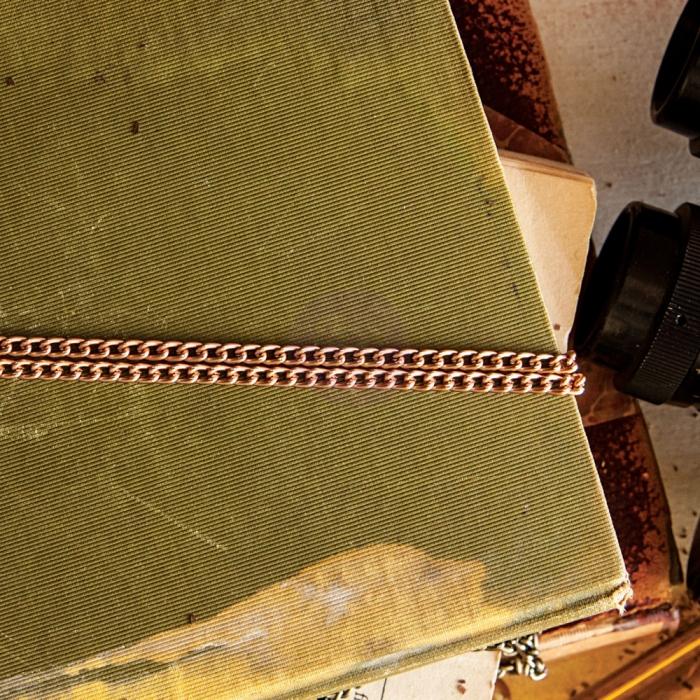 Memory Hardware - Bordeaux Lumière Antique Chain - Copper