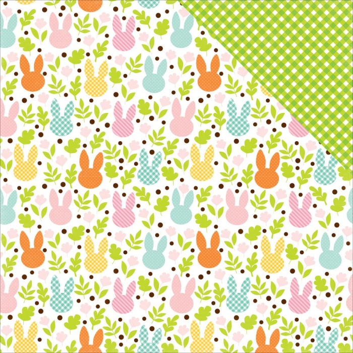 Papel Easter Field Of Cottontails / Páscoa