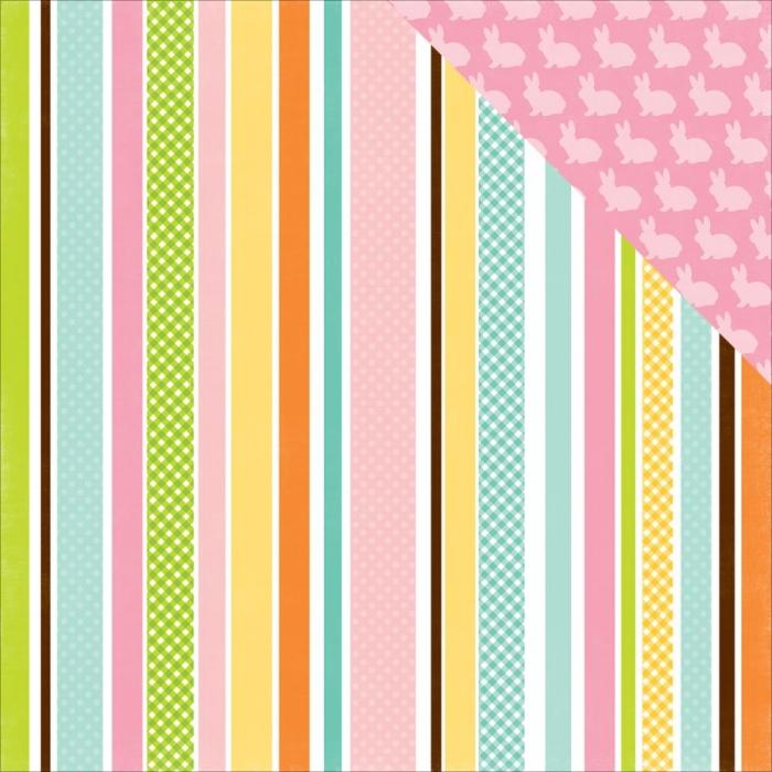 Papel Easter Stripe / Páscoa