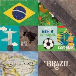 Papel Brasil Around The World