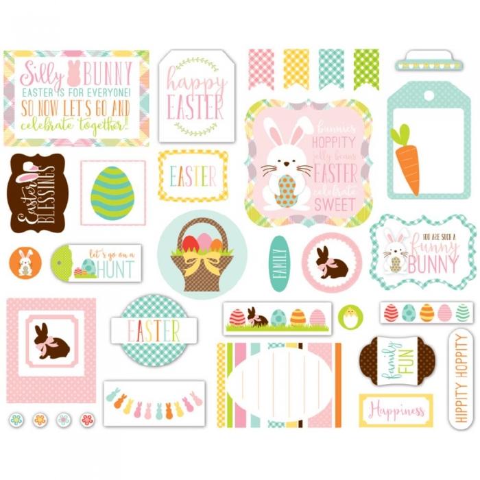 Papel Easter Ephemera / Páscoa