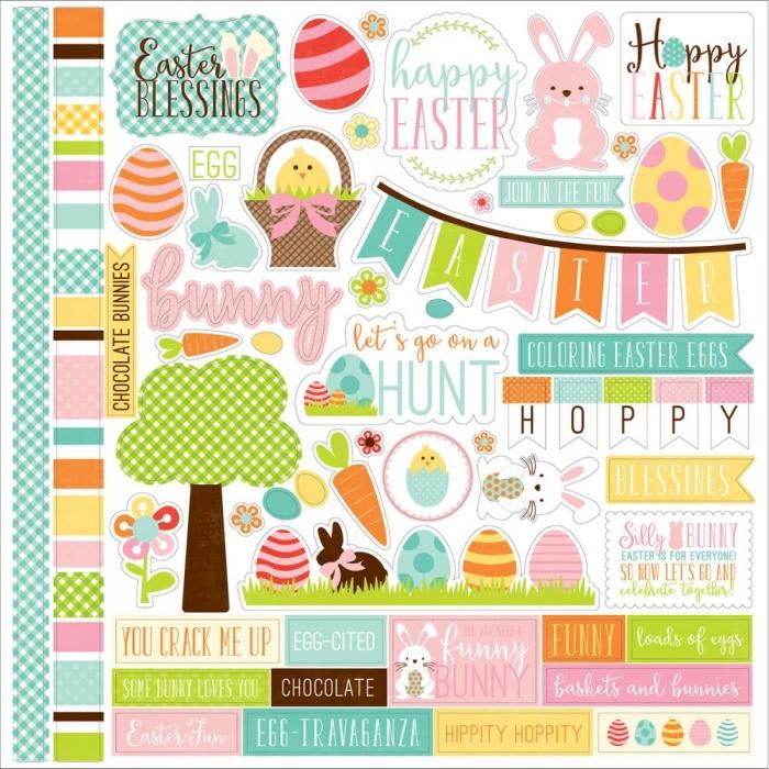 Papel Easter Adesivos / Páscoa