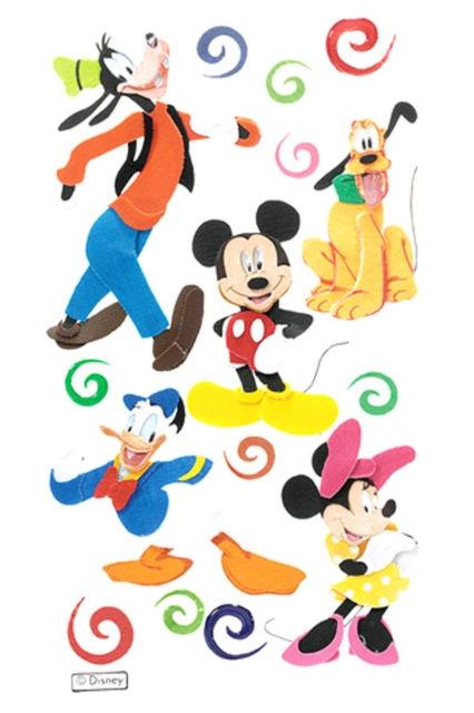 Adesivo Mickey e Amigos