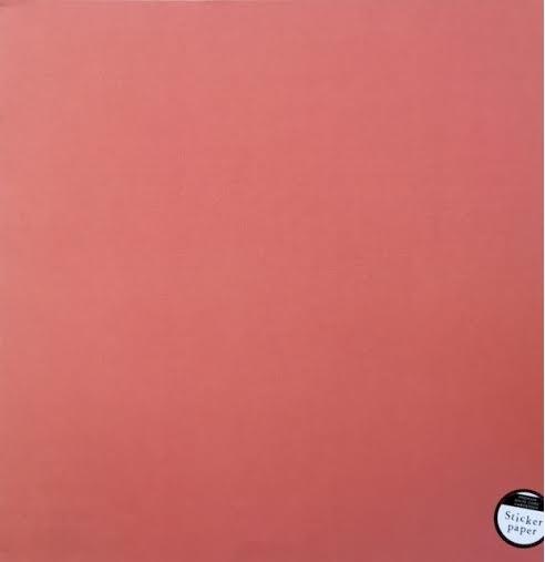 Papel Cardstock Adesivo Rust